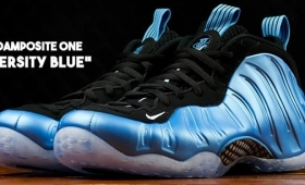 "NIKE AIR FOAMPOSITE ONE ""UNIVERSITY BLUE""入荷☆"