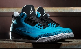 "NIKE AIR JORDAN 3 RETRO ""POWDER BLUE""再入荷☆"