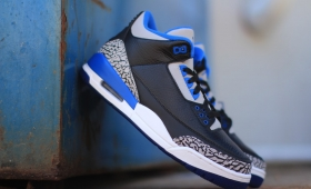 "NIKE AIR JORDAN 3 RETRO ""SPORT BLUE""再入荷☆"