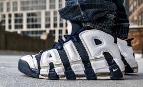 NIKE AIR MORE UPTEMPO Olympic RESTOCK☆