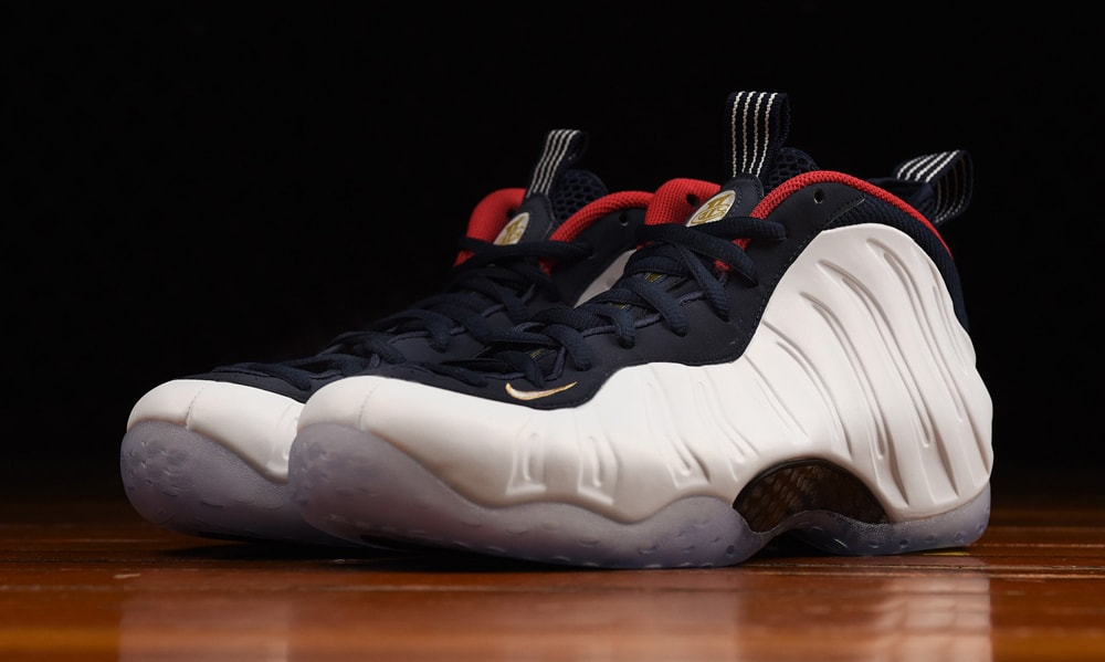 """NIKE AIR FOAMPOSITE ONE PRM """"OLYMPIC""""入荷☆"""