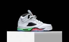 "NIKE AIR JORDAN 5 RETRO ""POISON GREEN""RESTOCK☆"