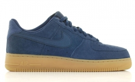 "NIKE AIR FORCE 1 ""Navy Suede Gum Sole""入荷☆"