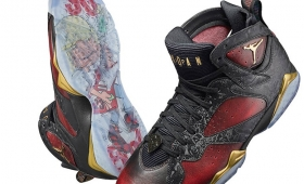 "【限定】NIKE AIR JORDAN 7 RETRO ""Doernbecher"" by Damien Phillips入荷☆"