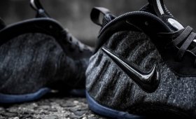 "NIKE AIR FOAMPOSITE PRO ""FLEECE""入荷☆"