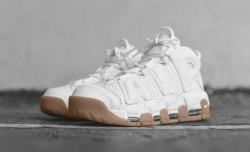 "NIKE AIR MORE UPTEMPO ""WHITE GUM"" RESTOCK☆"