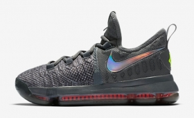 "【海外カラー】NIKE ZOOM KD9 TS (GS) ""Time To Shine Gray""入荷☆"