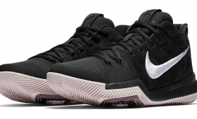 "NIKE KYRIE 3 EP ""Blk/Wht/S.Red""入荷☆"