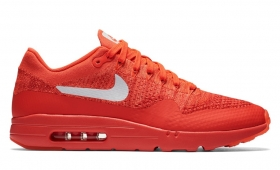 "【海外カラー】NIKE AIR MAX 1 ULTRA FLYKNIT ""Bright Crimson""入荷☆"