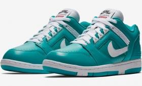 "NIKE SB AIR FORCE 2 LOW × Supreme ""Teal""入荷☆"