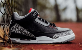 "NIKE AIR JORDAN 3 RETRO OG ""BLACK CEMENT""入荷☆"