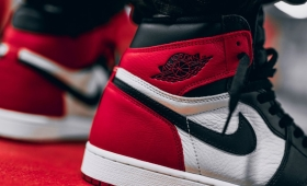 "NIKE AIR JORDAN 1 RETRO HIGH OG ""BRED TOE""入荷☆"