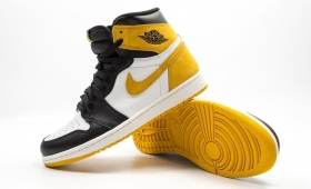 "NIKE AIR JORDAN 1 RETRO OG ""YELLOW OCHRE""入荷☆"