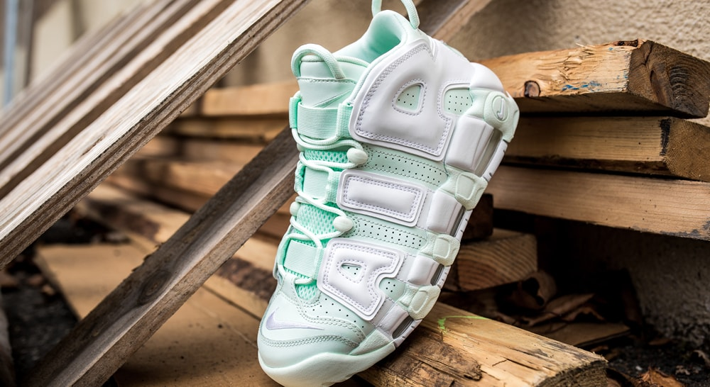 """NIKE AIR MORE UPTEMPO """"Sweet Mint""""入荷☆"""