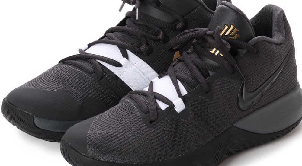 "NIKE KYRIE FLYTRAP EP ""Anthracite × Black""入荷☆"