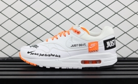 "NIKE WMNS AIR MAX 1 LUX ""JUST DO IT"" WHITE入荷☆"