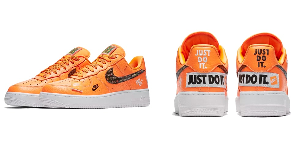 "NIKE AIR FORCE 1 LV8 JDI ""ORANGE""入荷☆"