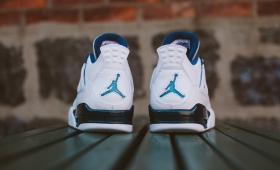 "NIKE AIR JORDAN 4 RETRO LS ""Legend Blue""入荷☆"