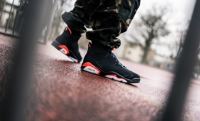 "NIKE AIR JORDAN 6 RETRO ""BLACK INFRARED""入荷☆"