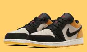 "NIKE AIR JORDAN 1 LOW ""UNIVERSITY GOLD""入荷☆"