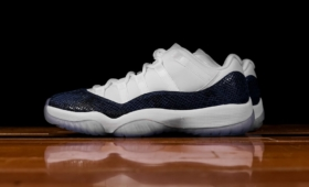 "NIKE AIR JORDAN 11 LOW ""Navy Snakeskin""入荷☆"