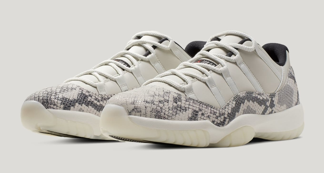 "NIKE AIR JORDAN 11 RETRO LOW ""SNAKESKIN""入荷☆"