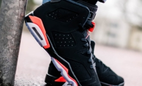 "NIKE AIR JORDAN 6 RETRO GS ""BLACK INFRARED""入荷☆"