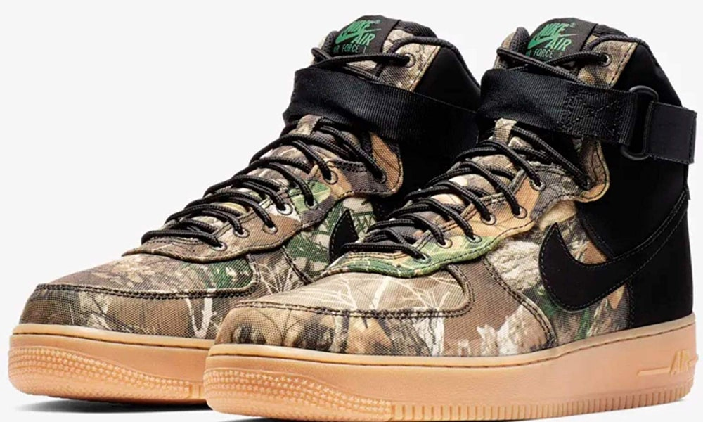 "NIKE AIR FORCE 1 HIGH ""Realtree Camo""入荷☆"
