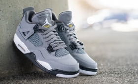 "NIKE AIR JORDAN 4 RETRO ""Cool Grey""入荷☆"