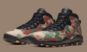 "NIKE AIR JORDAN 10 RETRO ""WOODLAND CAMO""入荷☆"