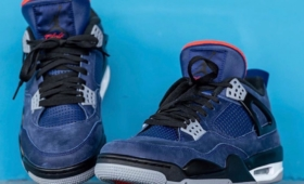 "NIEK AIR JORDAN 4 WNTR ""Loyal Blue""入荷☆"