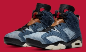 "NIKE AIR JORDAN 6 RETRO ""WASHED DENIM""入荷☆"