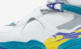 "NIKE WMNS AIR JORDAN 8 RETRO ""White Aqua""入荷☆"