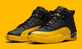 "NIKE AIR JORDAN 12 RETRO ""Black University Gold""入荷☆"