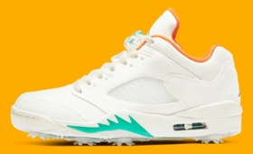 "NIKE AIR JORDAN 5 LOW GOLF ""Lucky and Good""入荷☆"