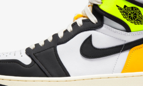 "NIKE AIR JORDAN 1 RETRO HIGH OG ""Volt Gold"""