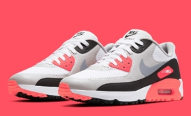 "NIKE AIR MAX 90 GOLF ""Infrared""入荷☆"