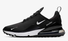 "NIKE AIR MAX 270 Golf ""Black White""入荷☆"