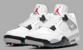 "NIKE AIR JORDAN 4 GOLF ""White Cement""入荷☆"