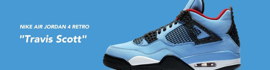 "NIKE AIR JORDAN 4 RETRO ""Travis Scott"""