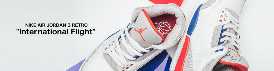 "NIKE AIR JORDAN 3 RETRO ""International Flight"""