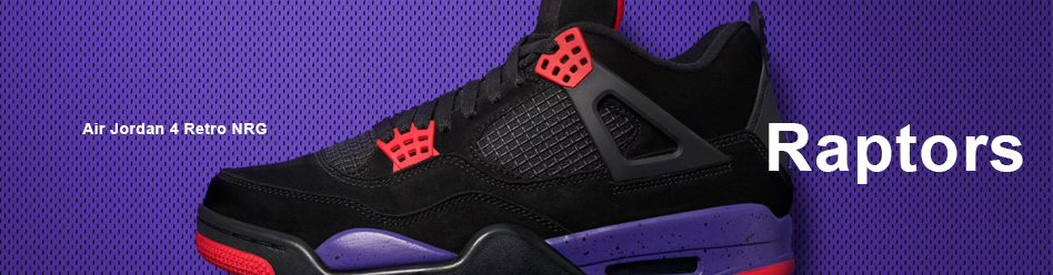"NIKE AIR JORDAN 4 RETRO NRG ""RAPTORS"""