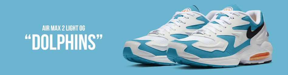 "NIKE AIR MAX 2 LIGHT OG ""Dolphins"""